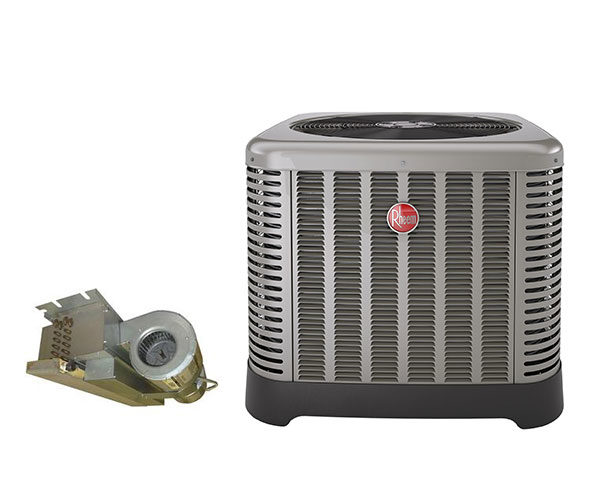 2 Ton First Company RA1424AJ1NA 16 SEER with 30HX Rheem Air Handler
